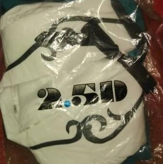 2.5次元製衣装の入った袋