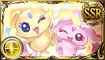 プリキュアコラボ召喚石(メップル&ミップル)