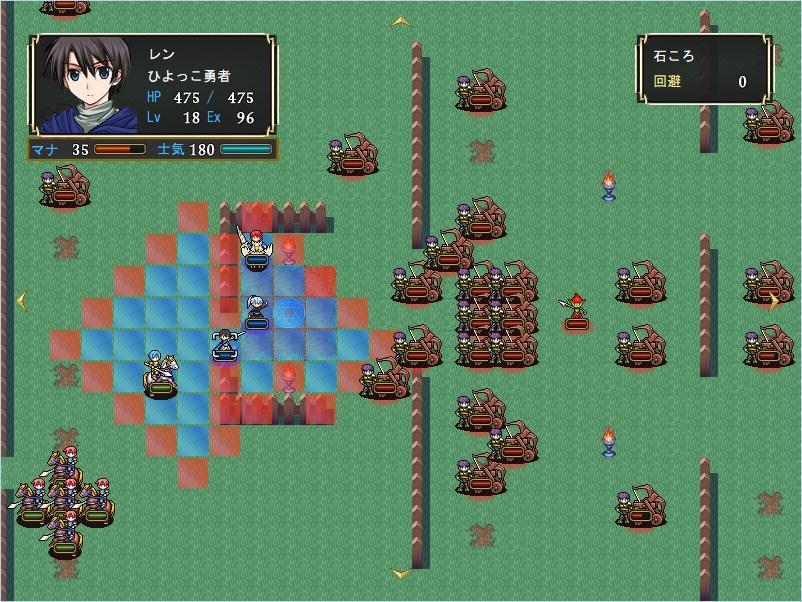 NAROUファンタジーのゲーム画面