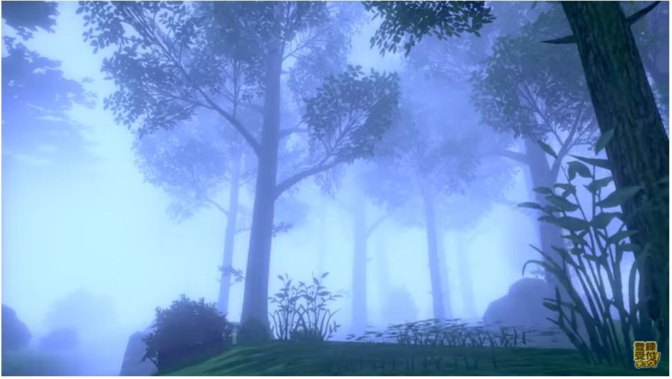 ポケモン剣盾に出てくる霧に包まれた森