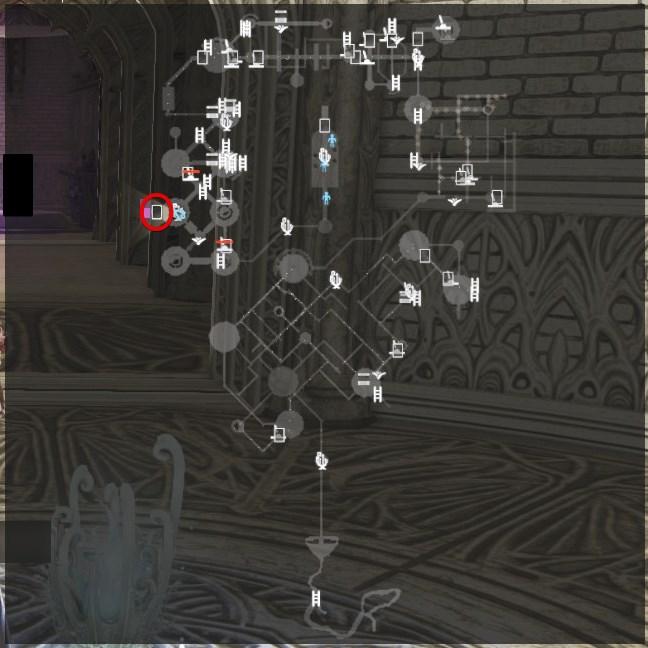 ヤドリギ「円塔内部」マップ位置