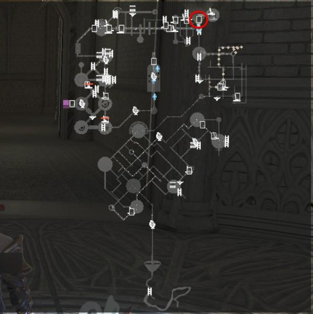 ヤドリギ「扉の間」マップ位置