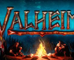 Valheimのロゴ画像