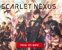 SCARLET NEXUS 公式ページトップ画面